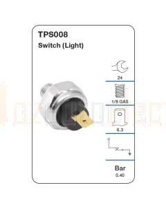Tridon TPS008 Oil Pressure Switch (Light)