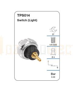 Tridon TPS014 Oil Pressure Switch (Light)