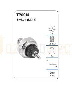 Tridon TPS015 Oil Pressure Switch (Light)