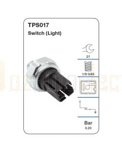Tridon TPS017 Oil Pressure Switch (Light)
