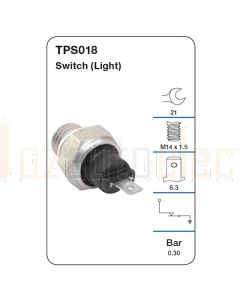 Tridon TPS018 Oil Pressure Switch (Light)