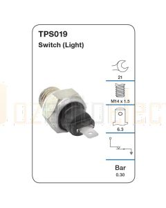 Tridon TPS019 Oil Pressure Switch (Light)