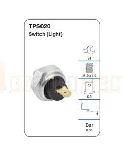 Tridon TPS020 Oil Pressure Switch (Light)