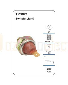 Tridon TPS021 Oil Pressure Switch (Light)