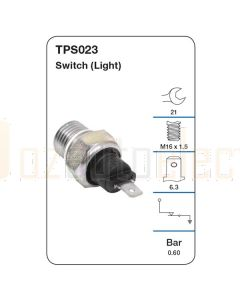 Tridon TPS023 Oil Pressure Switch (Light)