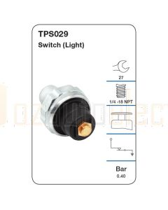 Tridon TPS029 Oil Pressure Switch (Light)