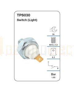Tridon TPS030 Oil Pressure Switch (Light)