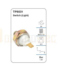 Tridon TPS031 Oil Pressure Switch (Light)