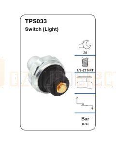 Tridon TPS033 Oil Pressure Switch (Light)