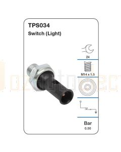 Tridon TPS034 Oil Pressure Switch (Light)
