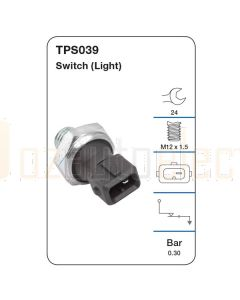 Tridon TPS039 Oil Pressure Switch (Light)