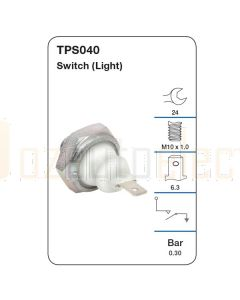 Tridon TPS040 Oil Pressure Switch (Light)