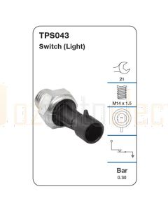 Tridon TPS043 Oil Pressure Switch (Light)