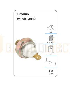 Tridon TPS046 Oil Pressure Switch (Light)