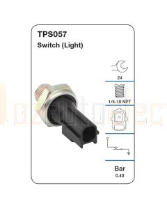 Tridon TPS057 Oil Pressure Switch (Light)