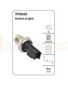 Tridon TPS058 Oil Pressure Switch (Light)