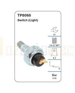 Tridon TPS068 Oil Pressure Switch (Light)