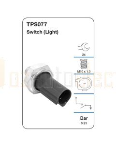 Tridon TPS077 Oil Pressure Switch (Light)