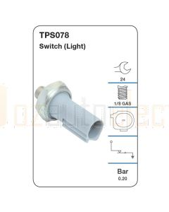 Tridon TPS078 Oil Pressure Switch (Light)