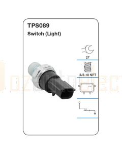Tridon TPS089 Oil Pressure Switch (Light)