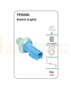 Tridon TPS090 Oil Pressure Switch (Light)