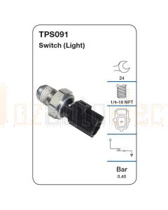 Tridon TPS091 Oil Pressure Switch (Light)