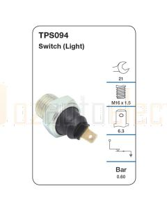 Tridon TPS094 Oil Pressure Switch (Light)