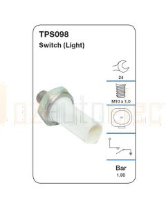 Tridon TPS098 Oil Pressure Switch (Light)