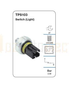 Tridon TPS103 Oil Pressure Switch (Light)