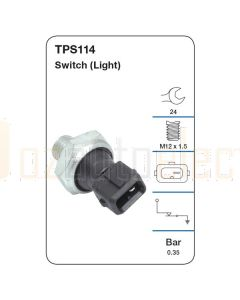 Tridon TPS114 Oil Pressure Switch (Light)