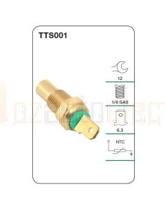 Tridon TTS001 Water Temperature Sender (Gauge)