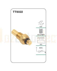 Tridon TTS022 Water Temperature Sender (Gauge)