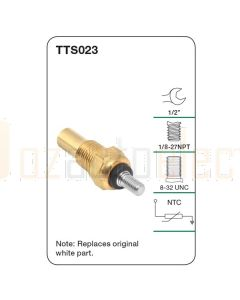 Tridon TTS023 Water Temperature Sender (Gauge)