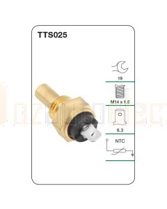 Tridon TTS025 Water Temperature Sender (Gauge)