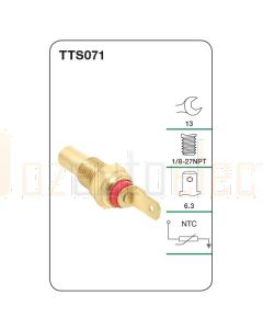 Tridon TTS071 Water Temperature Sender (Gauge)