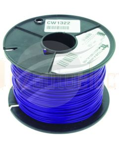 Tycab 3mm Single Core Cable Violet 100m Roll
