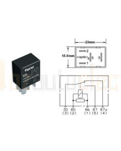 Tyco V23074-A1001-A403 Micro Change Over Relay