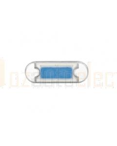 Hella Duraled Blue LED Courtesy Lamp 12/ 24V Surface Mount 500mm