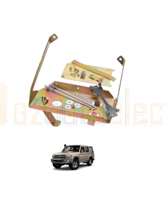 Projecta HDBT122 Heavy Duty Dual Battery Tray suit for Toyota Land Cruiser 70 Series