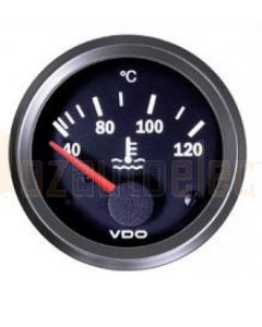 VDO 24V 310020001 Water Temperature Gauge 40-120C
