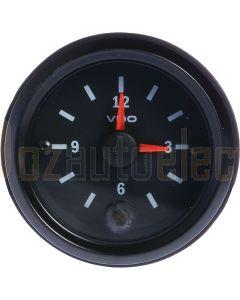 VDO 370.001 Clock Analogue 52mm 12V