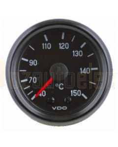 VDO Oil Temperature Gauge Mechanical Cockpit International 50 -150C 2.6M CAP 52mm