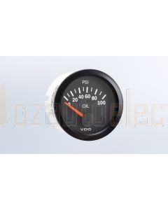 VDO PRESSURE GAUGE ELECTRICAL - 100psi 350010003