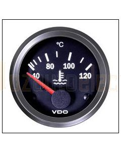 VDO Cockpit International Water Temperature Gauge (Electric Short Sweep) 40-120C 52mm 24V