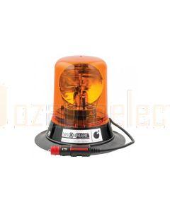 Vision Alert 500502 500 Series Halogen Beacon Mag 70 - Red (24V)