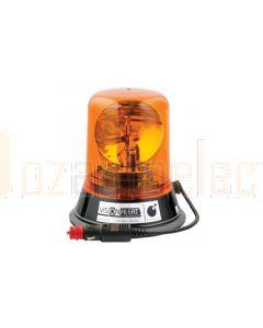 Vision Alert 507001 507 Series Halogen Beacon Mag 50 - Amber (12V)