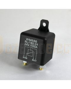 Heavy Duty Relay 100A 24V