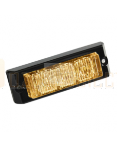 Britax Amber 3 LED Emergency Lamp 12/24V Surface Mount
