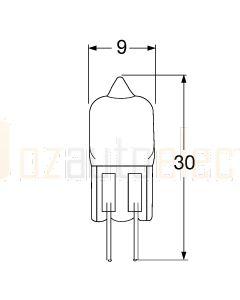 Hella Marine YM125 12V 5W Halogen Interior Lamp Bulb G4 Base