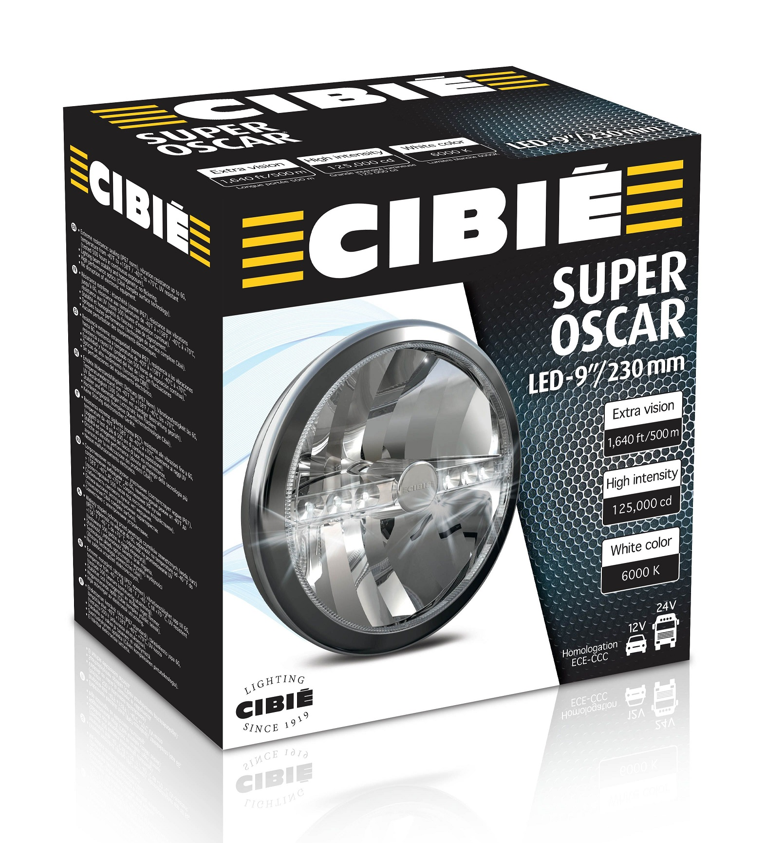 cibie super oscar LED